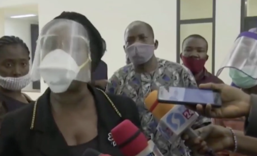 VIDEO: Suspected thugs disrupt press conference of ex-NDDC MD at senate