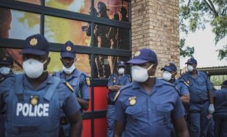Over 7,000 South African police officers contract COVID-19