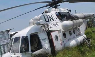 Buhari: There'll be consequences for attack on UN helicopter