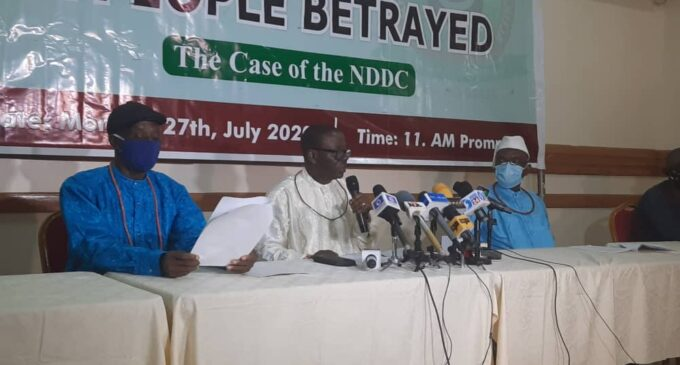 'Mismanagement of funds': Don't scrap NDDC, Urhobo leaders tell FG