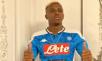 'Osimhen £74m move to Napoli' — five record transfers by Nigerian players