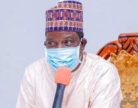 Lalong contracts COVID-19