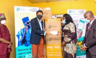 OPay donates 300,000 face masks to support fight against COVID-19 in Nigeria