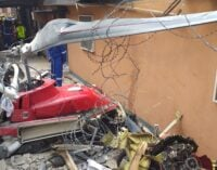 PHOTOS: The aftermath of Lagos helicopter crash