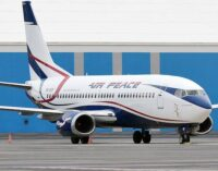 Air Peace resumes flights to South Africa — after three months suspension