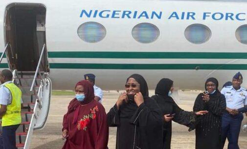 Aisha Buhari preaches against medical tourism — after treatment in Dubai