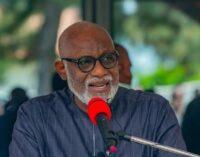 Akeredolu: Gulak's murder an attempt to instigate north against south-east