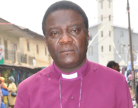 Kaduna files criminal charges against Anglican bishop