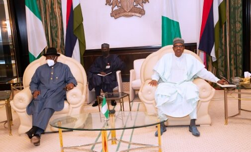 PHOTOS: Again, Jonathan meets Buhari over Mali political crisis