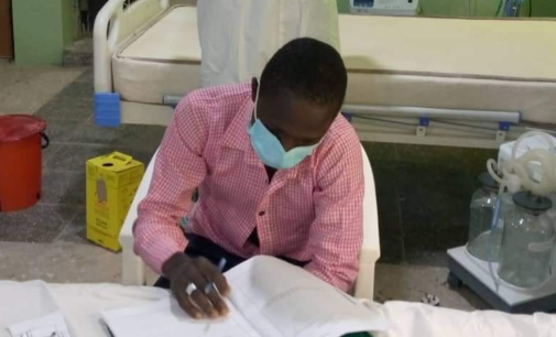 Gombe COVID-19 patient writes WASSCE at isolation centre