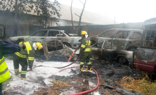 LASTMA asks owners of impounded vehicles not to panic over fire outbreak