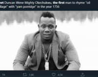 How Nigerians on Twitter reacted to 'Meet the First Person' memes challenge