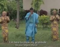 WATCH: 'He's our brave hero' — Hausa singer dedicates song to Fani-Kayode over Zamfara visit