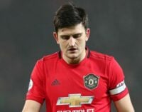 Maguire arrested on Greek island