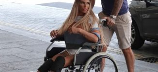 Katie Price 'banned from having sex for two weeks' after foot surgery