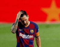 Messi hands Barcelona transfer request