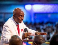 EXTRA: I'll lay bare hands on COVID-19 patients, says Oyedepo