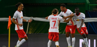 RB Leipzig beat Atletico Madrid to reach first ever UCL semi-final