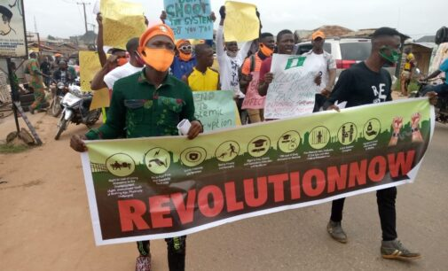 #RevolutionNow: CORE demands Buhari's resignation, fixes Oct 1 for protest