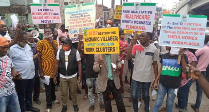 PHOTOS: #RevolutionNow protests across the country