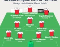 Akpeyi, Odey, Onyekuru… TheCable's team of the week