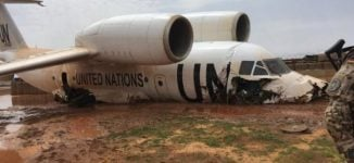 11 injured as UN plane crash-lands in Mali