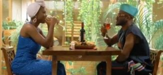 WATCH: Korede Bello's date with Taaooma turns sour in 'Table For Two' skit