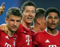 Bayern to face PSG in UCL final after beating Lyon