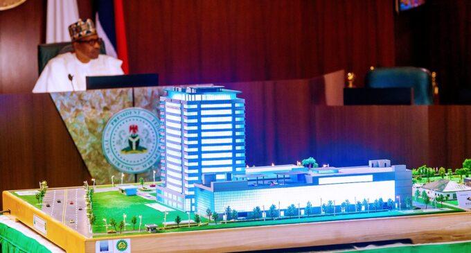 Buhari inaugurates 17-storey Nigerian Content Tower