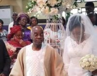 PHOTOS: Oyedepo gives out daughter in marriage