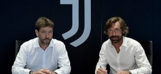 Juventus appoint Andrea Pirlo as head coach
