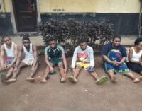 Police parade suspected killers of UNIBEN student