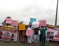 EXTRA: Oyo traditional worshippers stage protest, demand public holiday