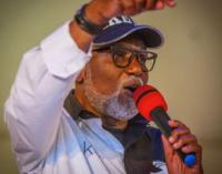 Ondo poll: Appeal court dismisses Jegede's suit against Akeredolu
