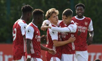 Nigerians dominate Arsenal's U-23 lineup against Brighton