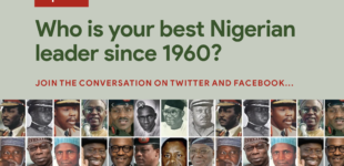 VOTE: Who is your best Nigerian leader since 1960?