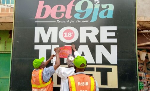 Bet9ja, BetKing affected as Kaduna revenue service seals offices over 'N500m tax debt'