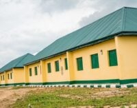 PHOTOS: FG completes school project in village of VP's late escort rider