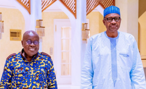 Buhari meets Akufo-Addo in Aso Rock amid protest by Nigerian traders in Ghana