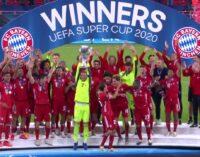Bayern overcome Sevilla to win UEFA Super Cup