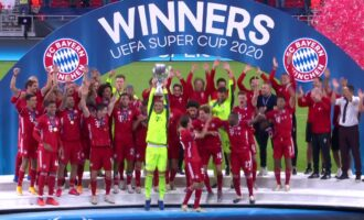 Bayern overcome Sevilla to win UEFA Super Cup