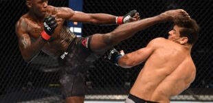 Israel Adesanya knocks out Brazil's Paulo Costa to retain title