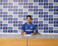 James Rodriguez joins Everton from Real Madrid for £20m