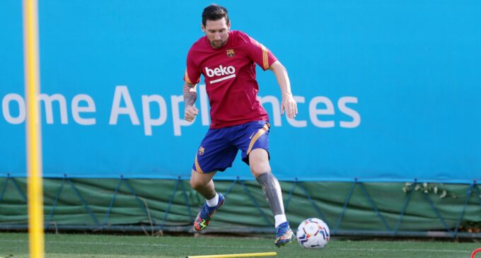 Messi admits he is forced to stay at Barcelona