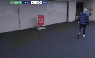 VIDEO: Drama as Mourinho storms off pitch to get Eric Dier from restroom