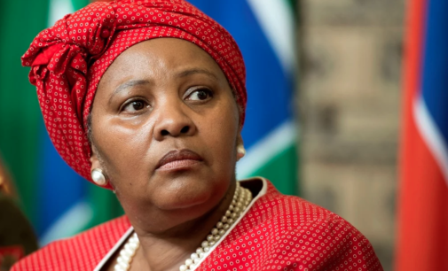 South African president cuts minister's salary over 'misuse of air force plane'