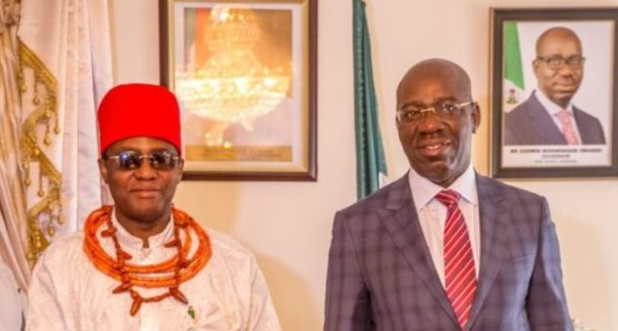 'Voice of the people is of God' — Oba of Benin congratulates Obaseki