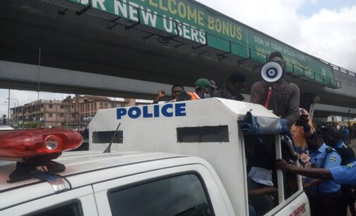 PHOTOS: Activists, journalists arrested over protest against petrol price hike