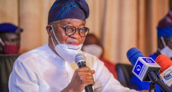 Oyetola asks LG chairpersons, councillors in Osun to vacate office