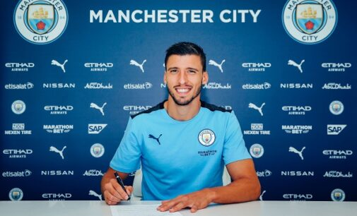 Man City sign Ruben Dias from Benfica for £65m